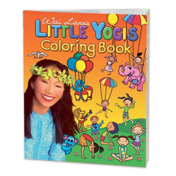 Wai Lana's Little Yogis Coloring Books