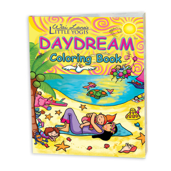 Wai Lana's Little Yogis Daydream Coloring Book