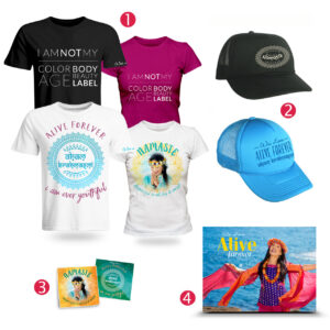 Alive Forever Merchandise Bundle