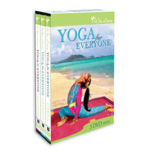 DVDs de Yoga para Todos en Paquete Triple