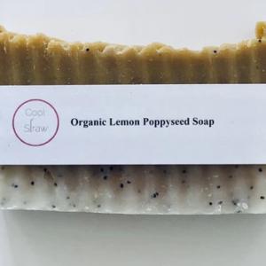 Organic Lemon Poppysead Soap