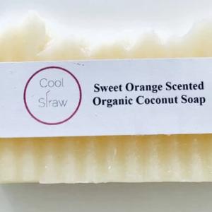 Sweet Orange Scented Organic Coconut Soap