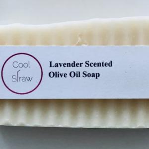 Lavender Scented Olive Oil Soap