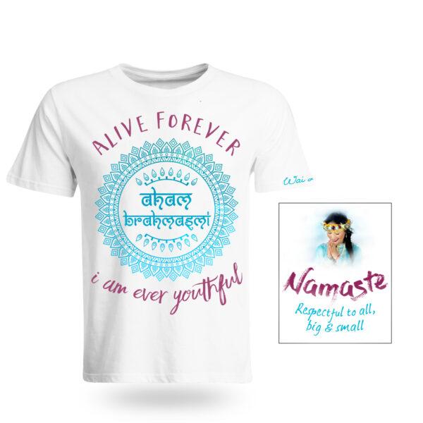 Alive Forever/Namaste T-Shirt