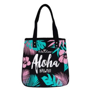 Organic Cotton Tropical Aloha Bag