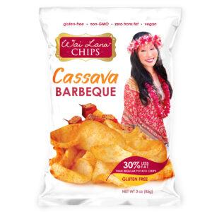 Wai Lana Cassava Chips Barbeque